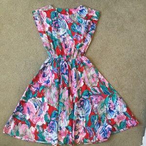Vintage cotton dress.